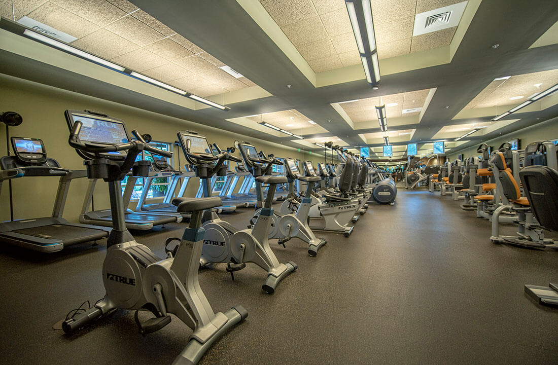 Fitness Center at Addison Reserve in Florida