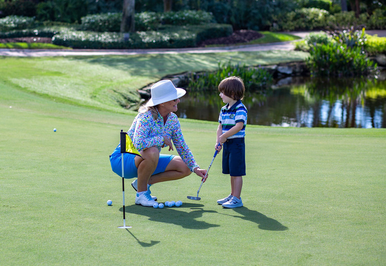 Junior Golf at Addison Reserve in Florida